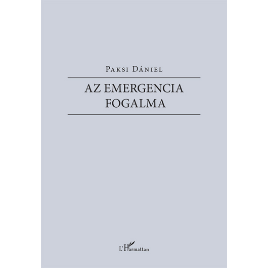 Az emergencia fogalma